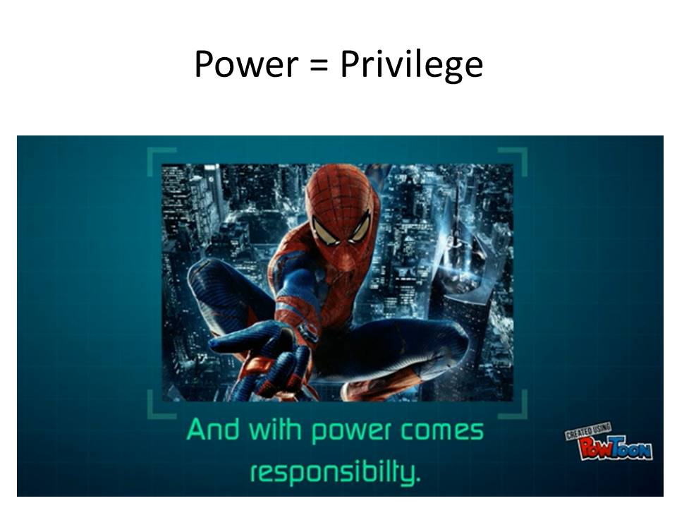 power-equals-privilege