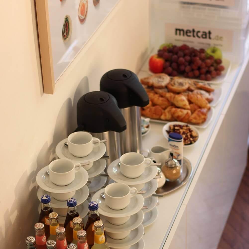 Auch auf kleinem Raum ein Frühstückstraum