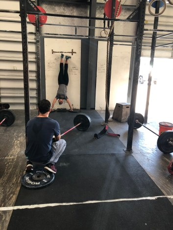 CrossFit Open 20.3 HandStand Push Up