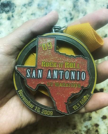 Benefits of Running a Half-Marathon medal