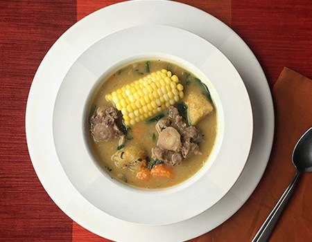 Hearty Oxtail and Split Pea Soup