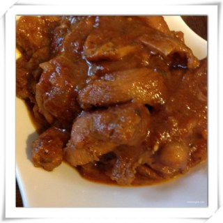 Chicken Stew… Brown Stew Chicken