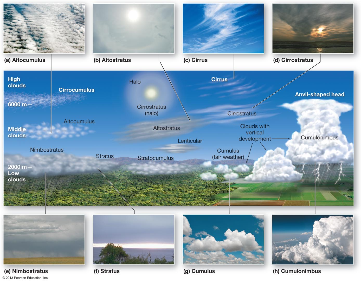 Clouds Types