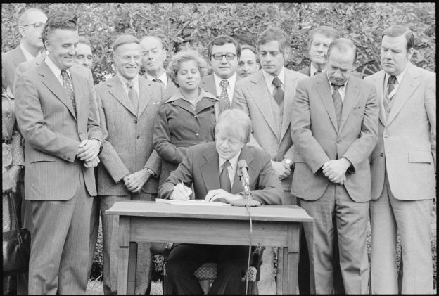 Signing of CRA in 1977