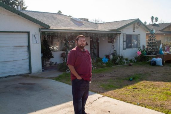 Jesus Alonso, 29, a community activist in Lamont, Calif., is working with community groups to set up air monitors around oil refineries in the southern San Joaquin Valley. (Jeremy P. Jacobs/E&E News)