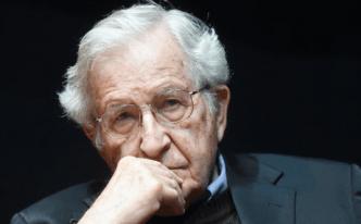 Noam Chomsky, April 2014.