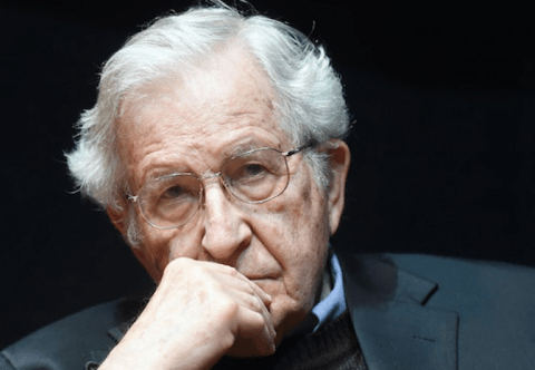 Noam Chomsky, April 2014.