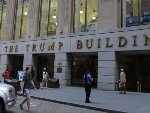 40 Wall Street in Manhattan, New York is one of four properties owned by the Trump Organization that are being investigated by the New York attorney general. (Photo: Ken Lund/Flickr/cc)