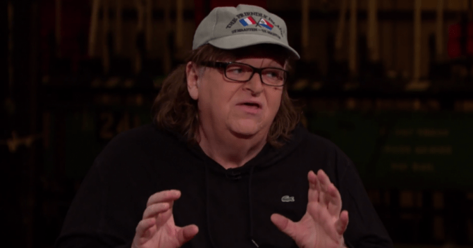 Documentary filmmaker Michael Moore said Friday he believes President Doanld Trump could secure another electoral victory in November. (Photo: Montclair Film Festival/flickr/cc)