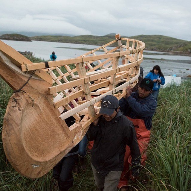 """A Kayak to Carry Us: Lived Knowledge"": A group of community members return to the nearly forgotten technology of the traditional Alutiiq kayak to their people by building one in the field as their ancestors did. Sign up for Vision Maker Media's First Indigenous Online Film Festival to watch FREE August 31 - October 5, 2020!"