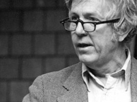 Michael Harrington, dust jacket photo from Twilight of Capitalism (1977)