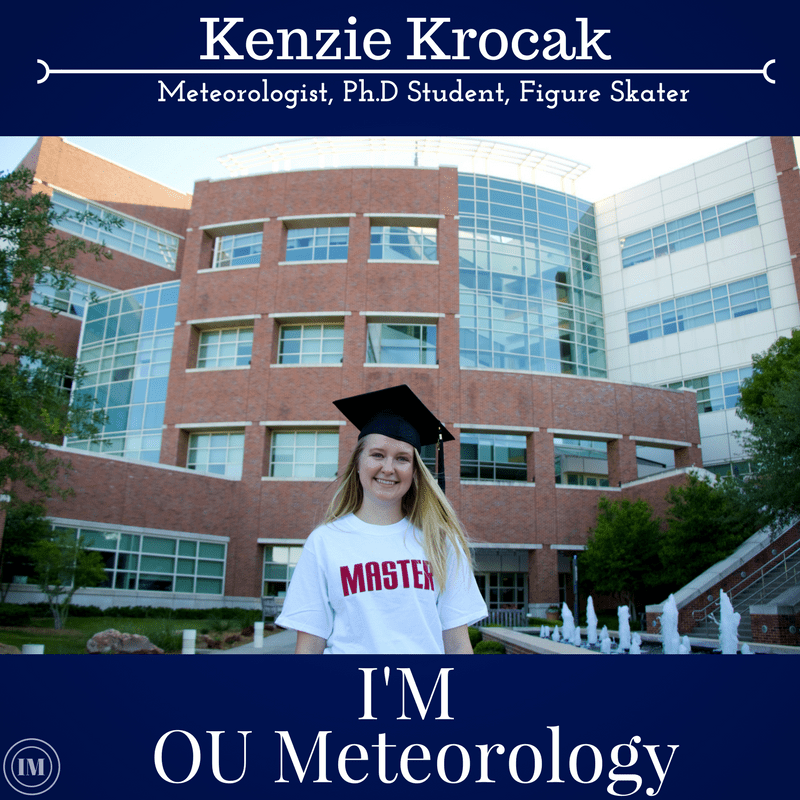 Kenzie Krocak selected as next I'M Meteorology representative