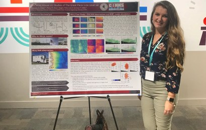 New Inclusivity in Meteorology Rep Elizabeth Smith Wins Poster Award