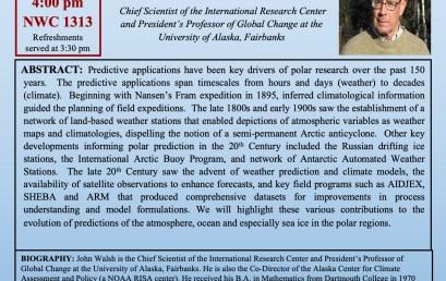 Dr. John Walsh- April 24