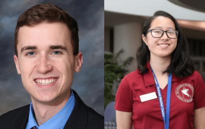 Two School of Meteorology Students Named AMS Senior Scholars