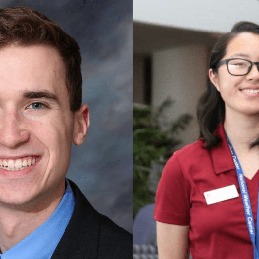 Two School of Meteorology Students Named AMS Senior Scholars