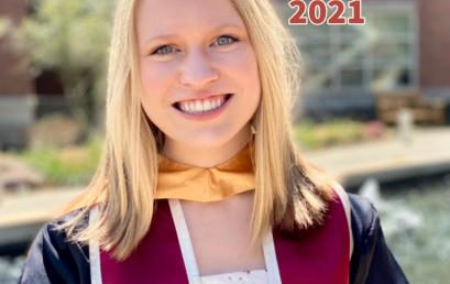 Senior Spotlight May 2021 – Andrea Gordon