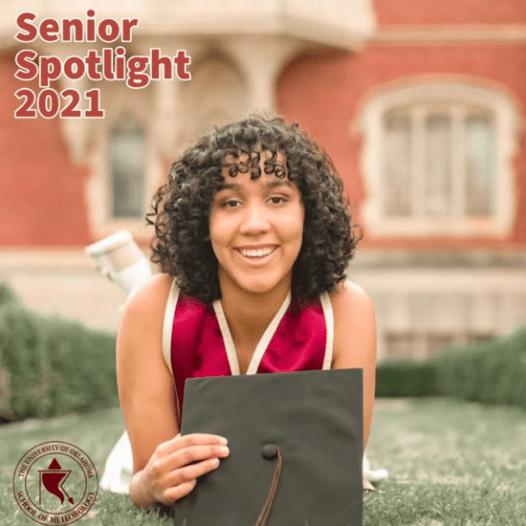 Senior Spotlight May 2021 – Kaela Williams