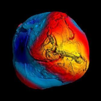 Estudios de la gravedad de La Tierra en La Grotta Gigante, la cueva turística más grande del Mundo