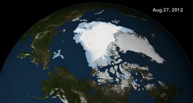 El hielo en El Ártico aumenta en comparación al año pasado ¿Estamos ante un enfriamiento global?