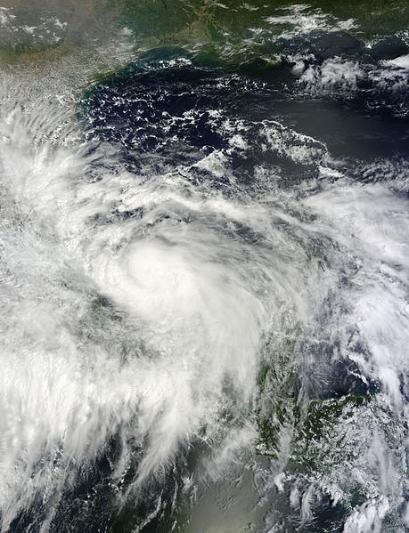 Huracán Ingrid que afectara a México la temporada pasada