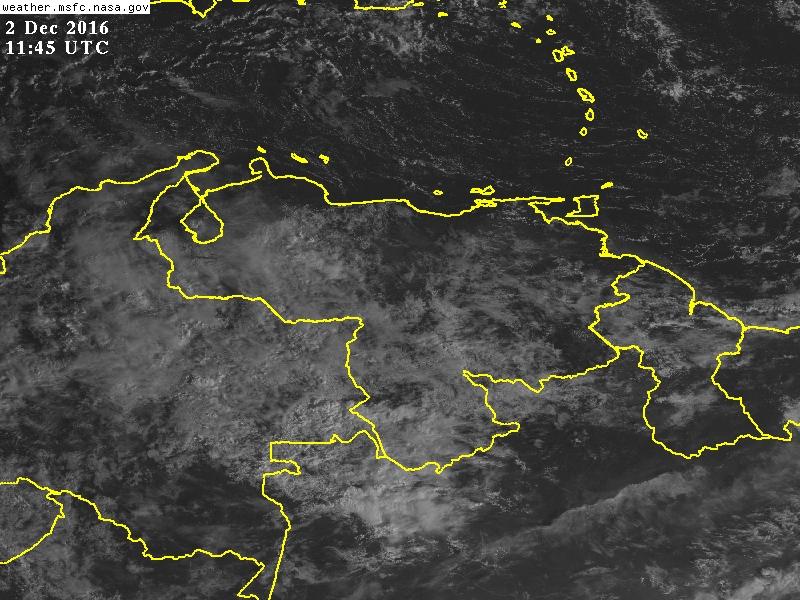 ¿Qué ha pasado con la vaguada? ¿Dónde pudiera llover hoy en Venezuela? Situación actual y pronóstico del tiempo