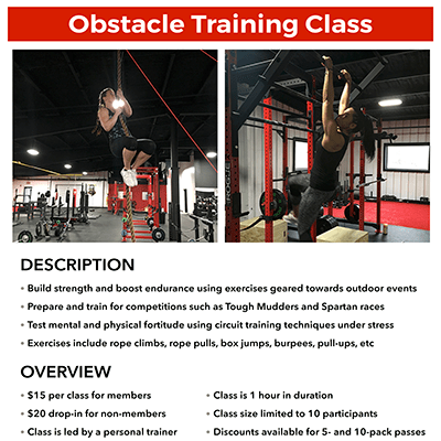 METfit Obstacle Training