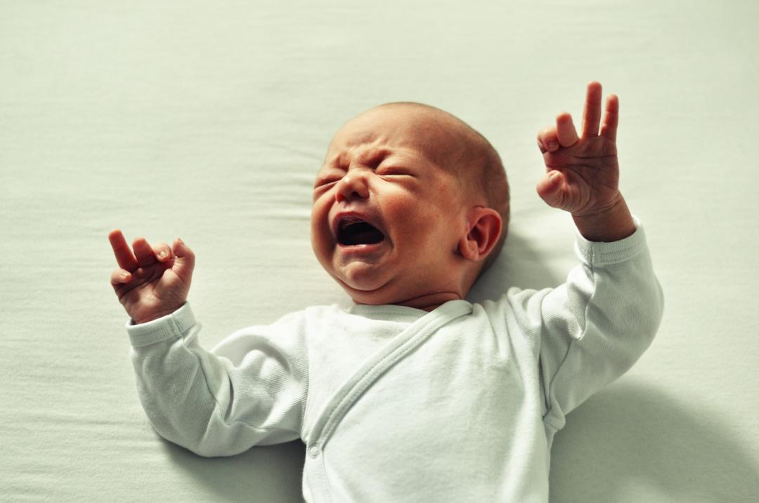 What do you do with a crying baby and no parenting instincts?