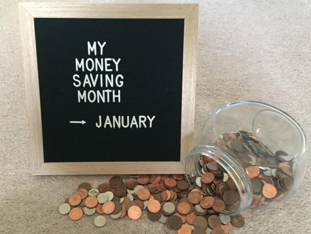 My Money Saving Month – January 2019