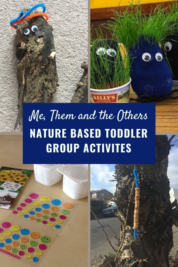 Nature based toddler group activities