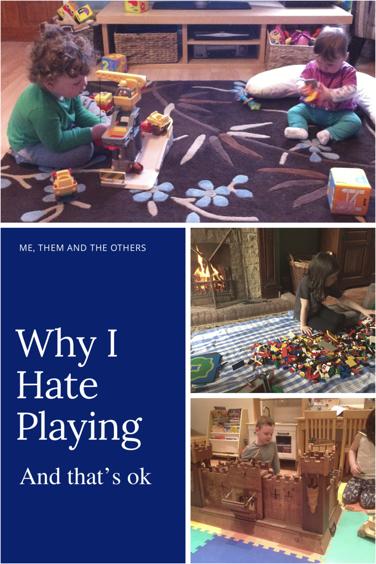 I hate playing (and that's ok) - Children playing independently