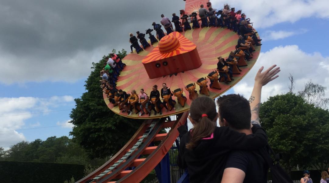The Edge ride at Paultons Park