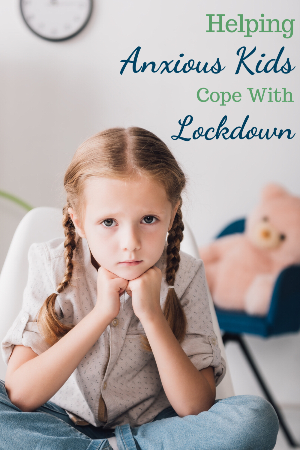 Helping anxious kids cope with lockdown