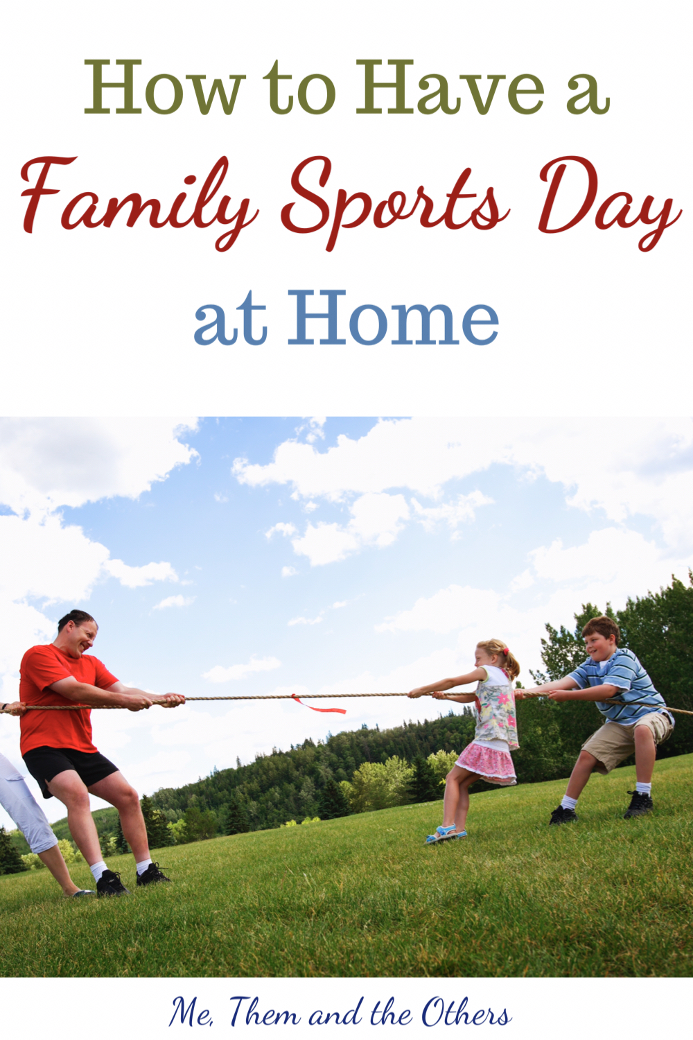 How to have a family sports day at home