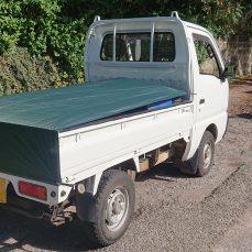 Suzuki Carry DD51T carrying scrap