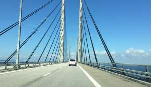 Bridge from Sweden to Denmark