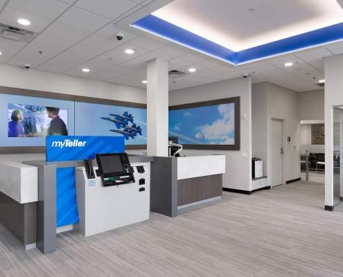 ATM design surround station