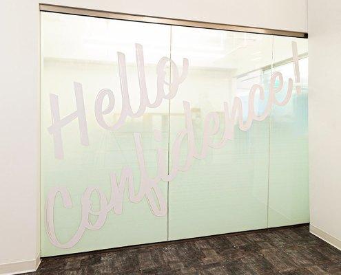 Glass Door Interior