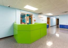 custom reception area