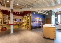 Visitor Center Branded Interior