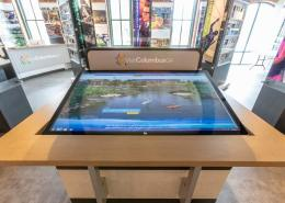 Interactive Display Table