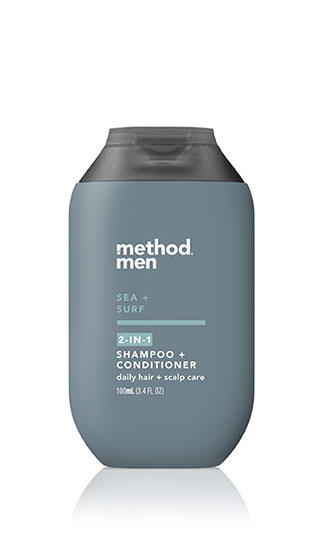 2-in-1 shampoo + conditioner (trial size)