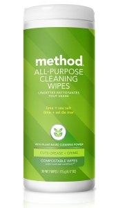 Lime + Sea Salt All Purpose Cleaning Wet Wipes Front