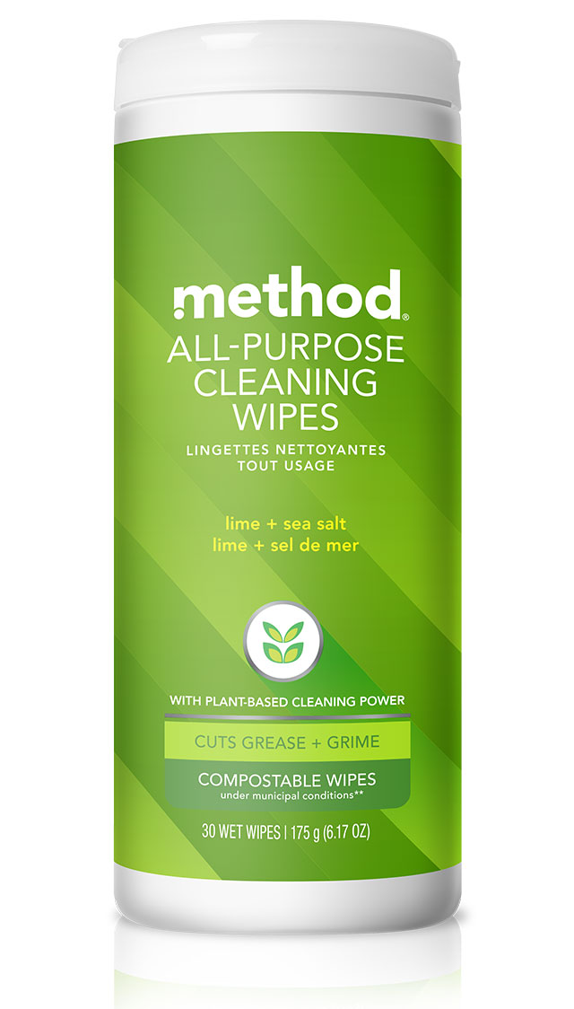 all-purpose cleaning wipes – 30 wipes