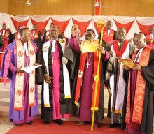 THE INDUCTION OF THE RT. REVEREND SAMUEL MENSAH AS BISHOP OF FOSO DIOCESE