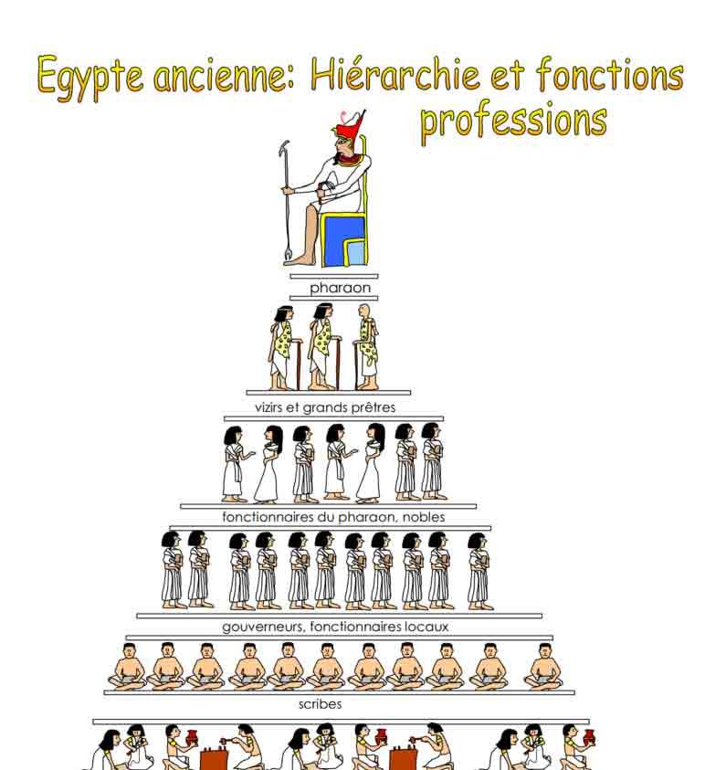 Pyramide des professions