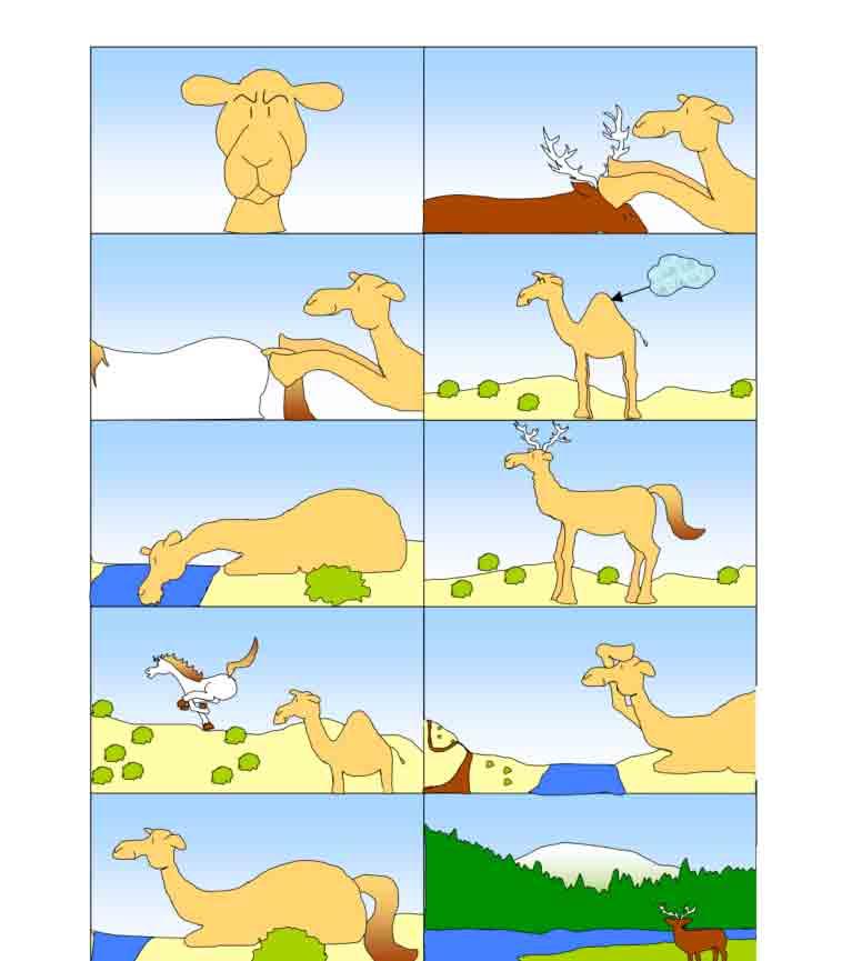 histoire Comment le chameau est devenu laid ?