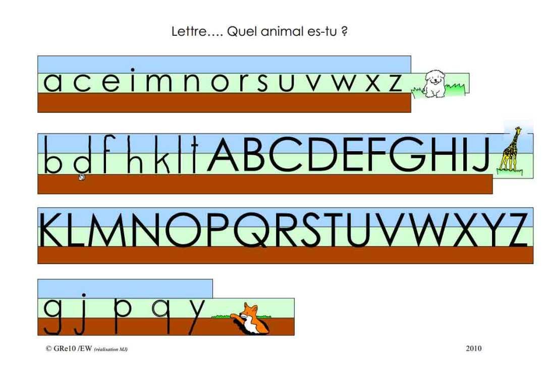 La lettre A