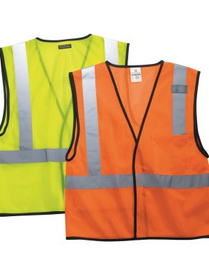 METHOD CHICAGO SCREEN PRINTING AND EMBROIDERY _ CUSTOM PRINTED HIGH VISIBILITY MESH VEST