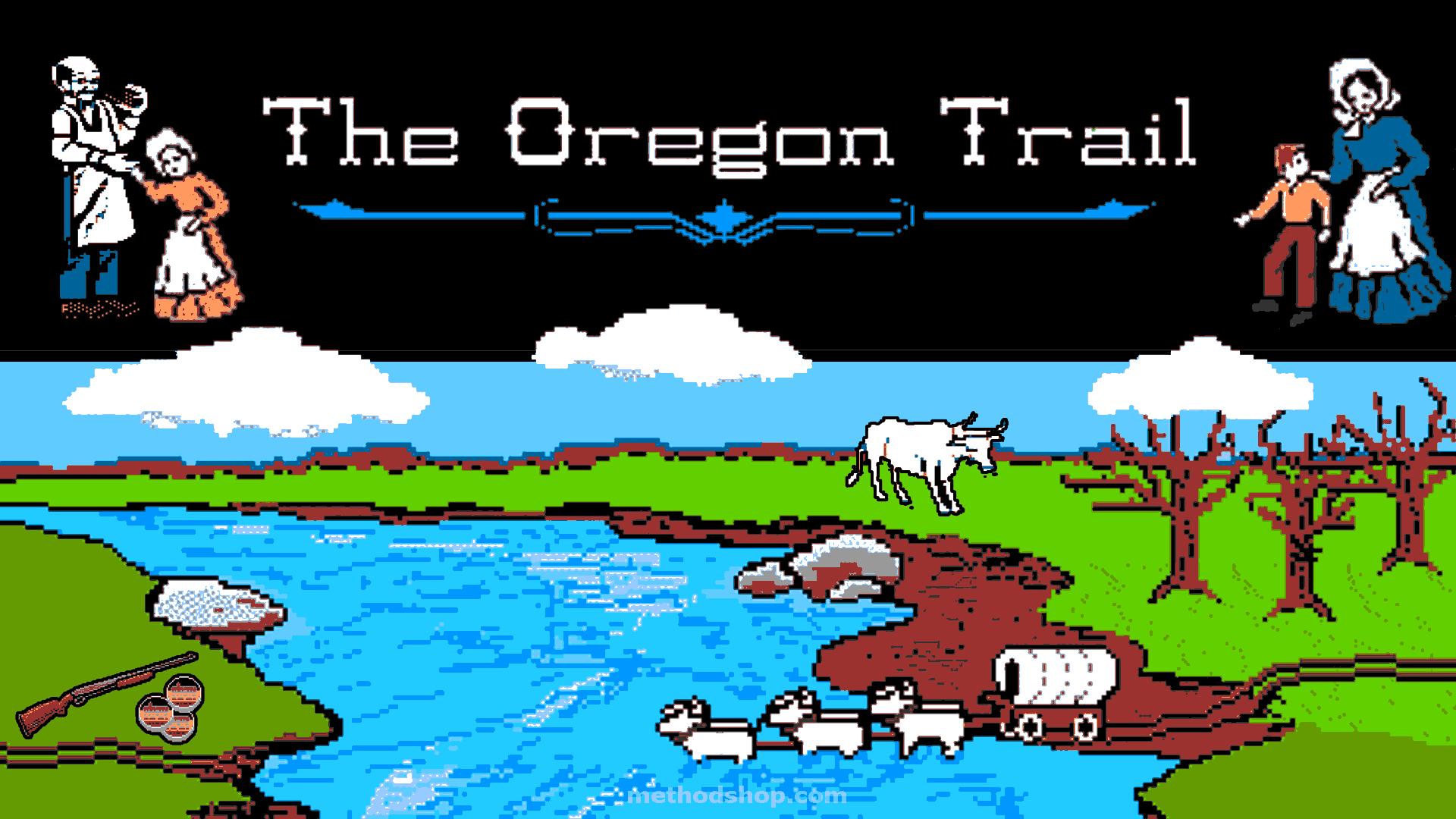The Original Oregon Trail Game